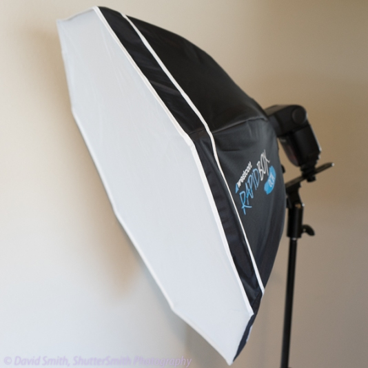Softbox - side view